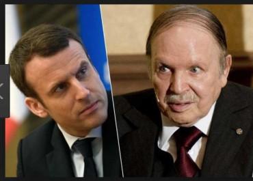 Bouteflika félicite Emmanuel Macron suite à la victoire de la France en finale de la coupe du Monde
