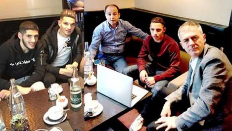 Alcaraz a rencontré Bennacer, Benzia et Ferhat, hier, à Paris