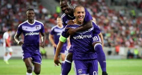 Belgique : Anderlecht assure face à Zulte. hanni passeur décisif
