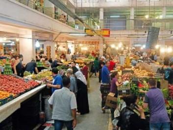 Alger: le marché Réda Houhou pris d'assaut par les citoyens