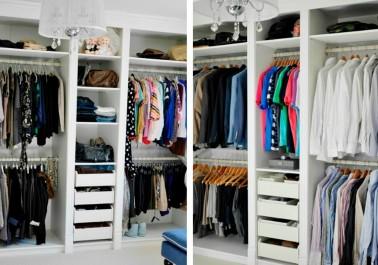 5 astuces pour bien ranger tes placards à vêtements