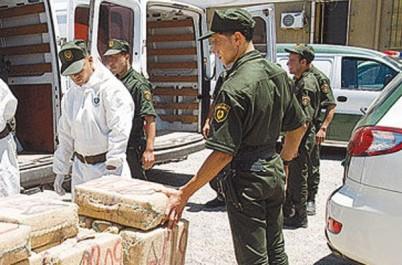 Gendarmerie nationale : saisie de plus de 17 kg de kif traité à Bordj Bou Arreridj