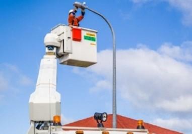 Eclairage public Tissemsilt : La partie Ouest de la ville dans le noir