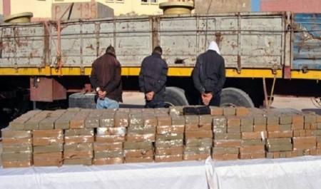 Résine de cannabis : près de 11 tonnes saisies durant les quatre premiers mois de 2018