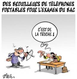 Caricature de DILEM concernant le BAC 2017