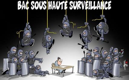 """Caricature """"Le Hic"""" concernant le BAC 2017"""