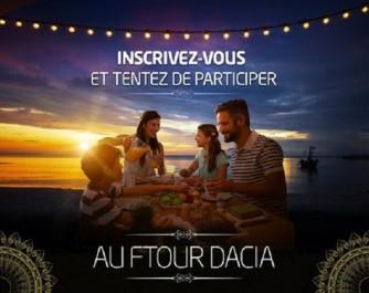 Renault Algérie : Tentez de participer au ftour Dacia
