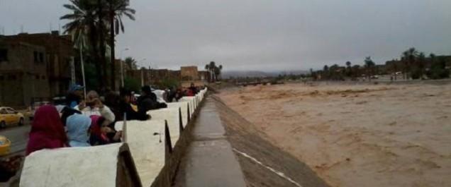 Tamanrasset: plus 200 habitations inondées au quartier Zaouïa jusque là recensés à In-Salah