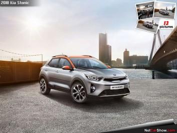 Kia Motors Corporation : Le Kia Stonic en avance sur la toile