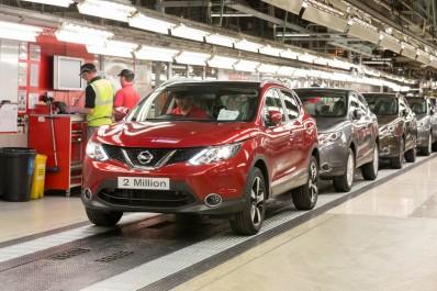 Nissan : Début de la production européenne du Qashqai restylé