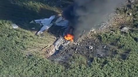 16 morts dans le crash d'un avion militaire américain au Mississippi