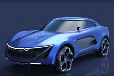 Groupe Renault : Le SUV Alpine pour 2019