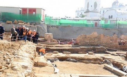Les découvertes des fouilles archéologiques de la place des martyrs exposées à alger