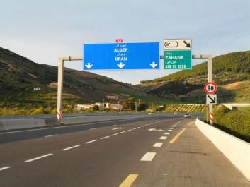 Autoroute Est-ouest : début des travaux de réhabilitation du tunnel de Djebel El Ouahch