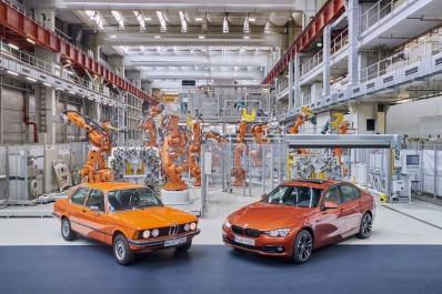 BMW Group : Mise à jour pour la BMW Serie 3 et clin d'œil à la E 21