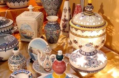 Ath khir (Tizi Ouzou): LA JSK et le FCE au Salon de la poterie