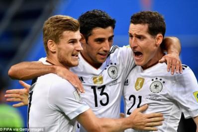 Coupe des Confédérations : Le Chili domine mais c'est l'Allemagne qui remporte le trophée !