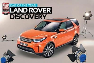 "Auto Express New Car Awards : Land Rover Discovery élu ""Car of the Year"" par Auto Express"