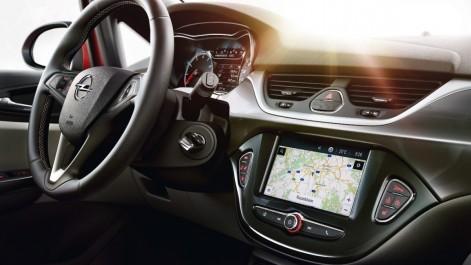 Opel intègre son nouveau système Navi 4.0 sur les Opel KARL, ADAM et Corsa