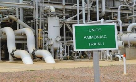 La production à l'usine d'ammoniac d'Arzew redémarre après un règlement à l'amiable entre cocontractants