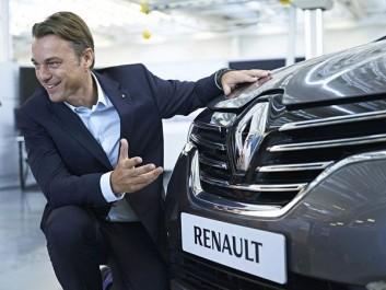 Laurens Van Den Acker, directeur du design du Groupe Renault au Soir Auto : «Nous voulons proposer à nos clients une valeur sûre»