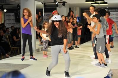 Défilé de mode à l'occasion du lancement du concept « Rookie USA »