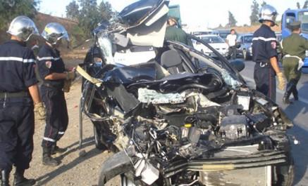 Accidents de la route: plus de 2800 décès entre janvier et septembre 2017