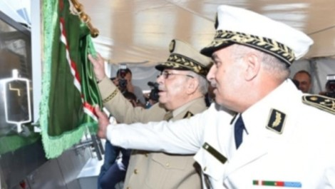 Gaïd Salah procède à l'inauguration et au lancement de nouvelles structures à la 2ème Région militaire