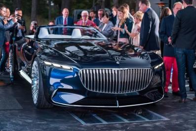Mercedes-Benz : Le concept Vision Mercedes Maybach 6 revient en cabriolet à Pebble Beach