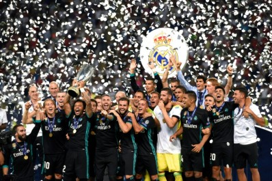Le Real Madrid remporte la Supercoupe d'Europe