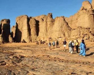 Illizi : les Oueds du Tassili N'ajjer, destination privilégiée des touristes