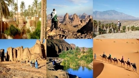 Adrar: des journalistes et des opérateurs touristiques nationaux et étrangers à la découverte du Gourara