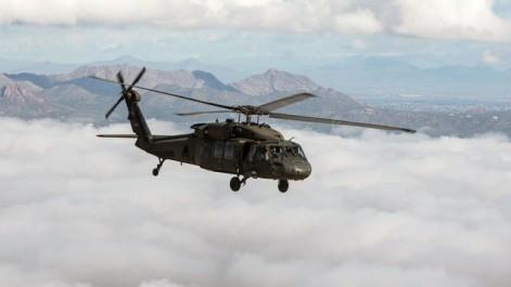 USA: 5 disparus dans le crash d'un hélicoptère militaire