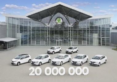 Volkswagen Group : 20 millions de véhicules produits par Skoda