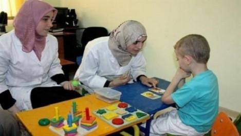 Journée de sensibilisation au jardin d'El Hamma au profit des parents d'enfants autistes