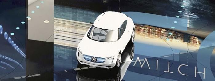 Salon de Frankfurt 2017 : Nouvelle image du Concept EQA de Mercedes-Benz