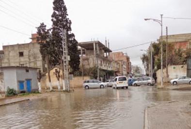 Brèves de Bordj Bou-Arréridj : Les eaux de pluie submergent des quartiers