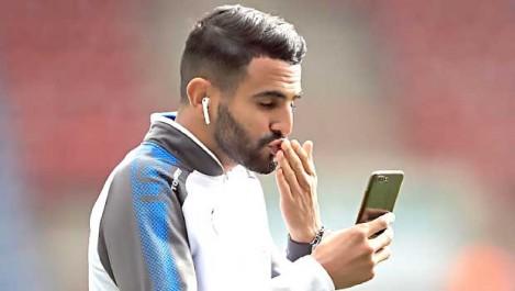 Mahrez titulaire face  à Huddersfield