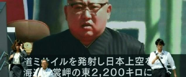 Chine: «Les Etats-Unis doivent cesser les menaces contre la Corée du Nord»