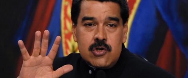 Pour le président Maduro: Les richesses du Venezuela sont la cause de l'ingérence américaine