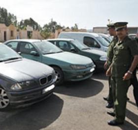 Tiaret: Trois véhicules trafiqués saisis
