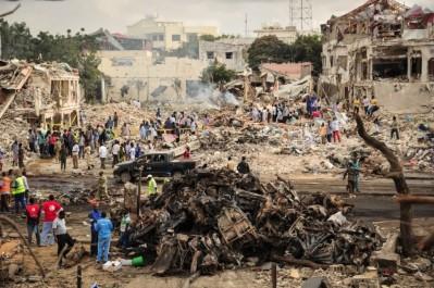 Somalie : attentat meurtrier à Mogadiscio