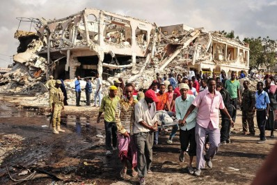 Somalie: Hausse à 25 morts du bilan de l'attaque contre un hôtel à Mogadiscio