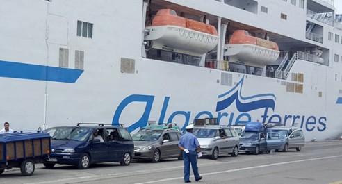 Gare maritime de Mostaganem : Arrestation d'un voyageur en possession d'arme et de munitions