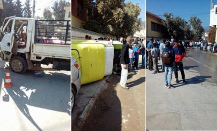 Un camion perd ses freins et fonce sur des écoliers à Aïn Defla, au moins 2 morts et 3 blessés