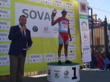 Cyclisme – TAC 2017 (5e étape) : l'Algérien Abderaouf Bengayou (LABC) s'impose, le Marocain Abdellah Hida nouveau maillot jaune