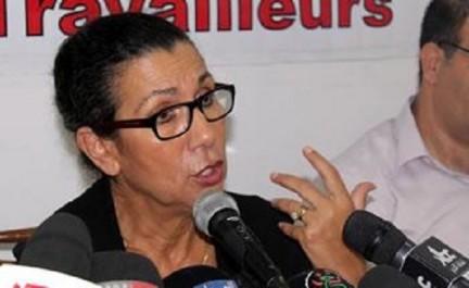 Louisa hanoune avertit contre les appels  à investir la rue ou l'application de l'article : 102 «Ça risque de provoquer l'irréparable»