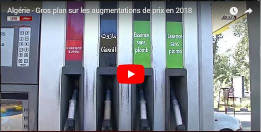 Vidéo : Algérie – Gros plan sur les augmentations de prix en 2018
