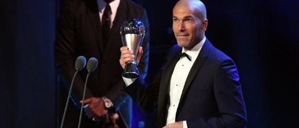 Foot : Zidane sacré meilleur entraîneur de l'année 2017