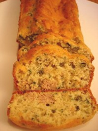 Cake au thon et aux câpres